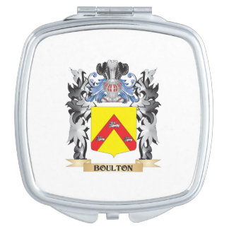 Escudo de armas de Boulton - escudo de la familia Espejo De Viaje