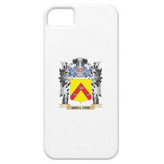 Escudo de armas de Boulton - escudo de la familia Funda Para iPhone 5 Barely There