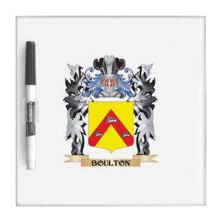 Escudo de armas de Boulton - escudo de la familia Pizarras Blancas De Calidad