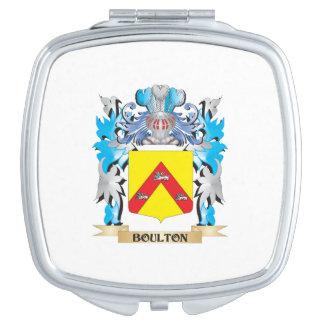Escudo de armas de Boulton Espejos Para El Bolso