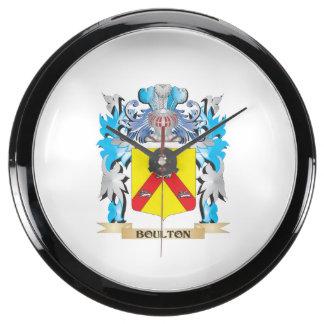 Escudo de armas de Boulton Relojes Pecera