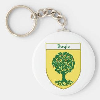 Escudo de armas de Boyle/escudo de la familia Llavero Personalizado