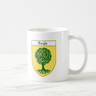 Escudo de armas de Boyle/escudo de la familia Taza