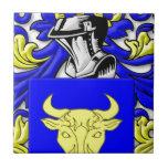 Escudo de armas de Bozzi Azulejos