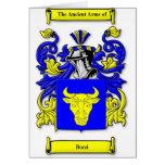 Escudo de armas de Bozzi Felicitacion