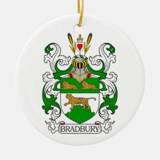Escudo de armas de Bradbury Adorno De Navidad