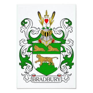 Escudo de armas de Bradbury Invitación 8,9 X 12,7 Cm