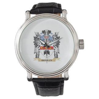 Escudo de armas de Bradley - escudo de la familia Relojes De Mano
