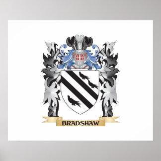 Escudo de armas de Bradshaw - escudo de la familia Póster