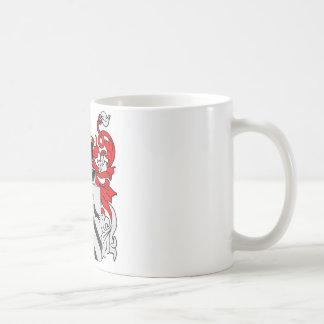 Escudo de armas de Bradshaw Tazas De Café