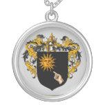 Escudo de armas de Brady Pendientes Personalizados