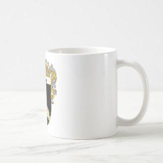 Escudo de armas de Brady (cubierto) Taza De Café