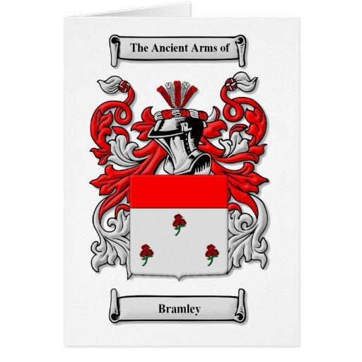 Escudo de armas de Bramley Tarjeta De Felicitación