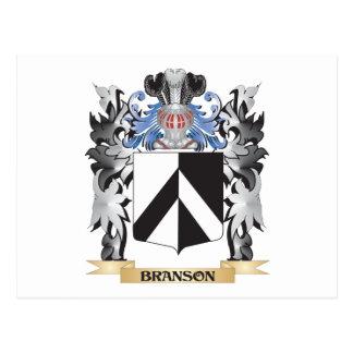 Escudo de armas de Branson - escudo de la familia Postal