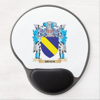 Escudo de armas de Braun Alfombrilla Gel