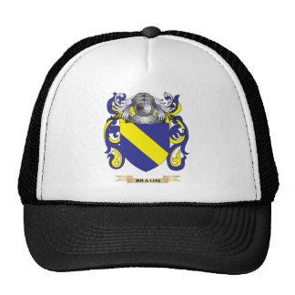 Escudo de armas de Braun (escudo de la familia) Gorras