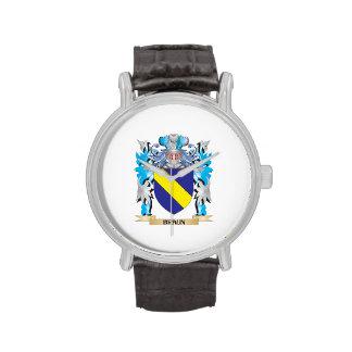 Escudo de armas de Braun Relojes De Pulsera