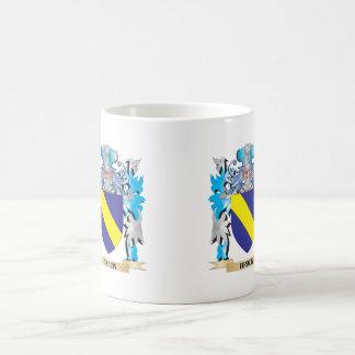 Escudo de armas de Braun Taza De Café