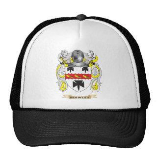 Escudo de armas de Brawley (escudo de la familia) Gorras De Camionero