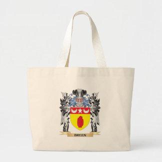 Escudo de armas de Breen - escudo de la familia Bolsa Tela Grande