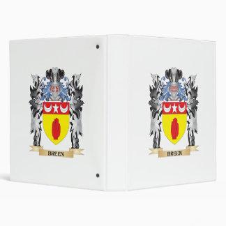 "Escudo de armas de Breen - escudo de la familia Carpeta 1"""