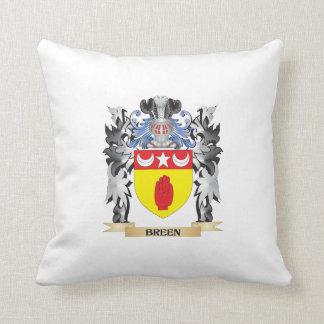 Escudo de armas de Breen - escudo de la familia Almohada