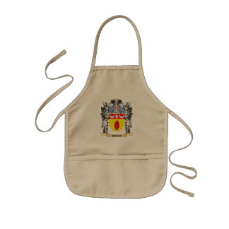 Escudo de armas de Breen - escudo de la familia Delantal Infantil