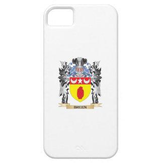 Escudo de armas de Breen - escudo de la familia iPhone 5 Carcasa