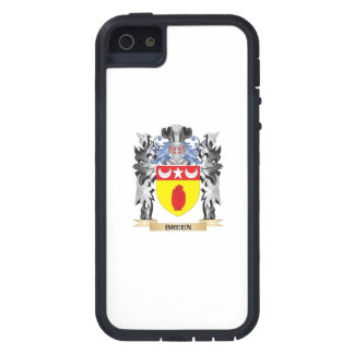 Escudo de armas de Breen - escudo de la familia iPhone 5 Fundas