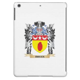 Escudo de armas de Breen - escudo de la familia Funda Para iPad Air