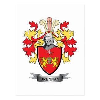 Escudo de armas de Brennan Postales