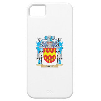 Escudo de armas de Brett iPhone 5 Case-Mate Coberturas