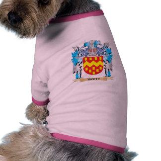 Escudo de armas de Brett Ropa Para Mascota