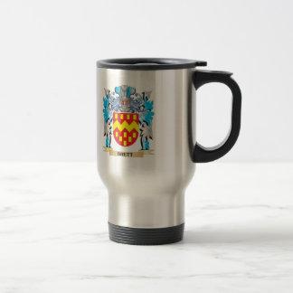 Escudo de armas de Brett Tazas De Café