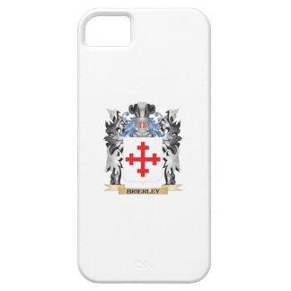 Escudo de armas de Brierley - escudo de la familia iPhone 5 Funda
