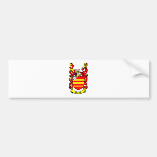 Escudo de armas de BRIGGS Etiqueta De Parachoque