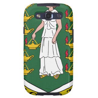 Escudo de armas de British Virgin Islands Samsung Galaxy S3 Cárcasas