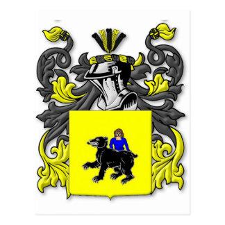 Escudo de armas de Brodzinski Postal