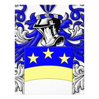 Escudo de armas de Brongo Plantilla De Membrete