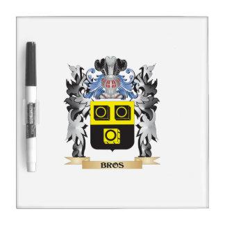 Escudo de armas de Bros - escudo de la familia Pizarra