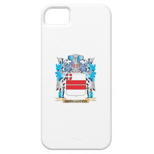 Escudo de armas de Broughton iPhone 5 Case-Mate Funda
