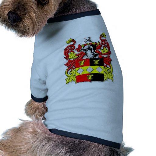 Escudo de armas de Browder Camiseta Con Mangas Para Perro