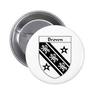 Escudo de armas de Brown/escudo de la familia Pin