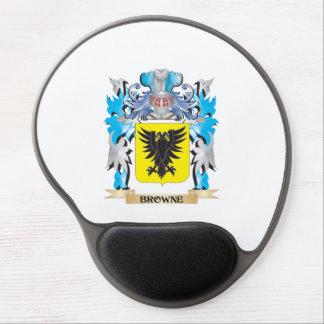 Escudo de armas de Browne Alfombrilla De Raton Con Gel