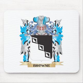 Escudo de armas de Browne Mousepad
