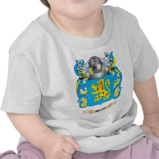 Escudo de armas de Brun escudo de la familia Camiseta