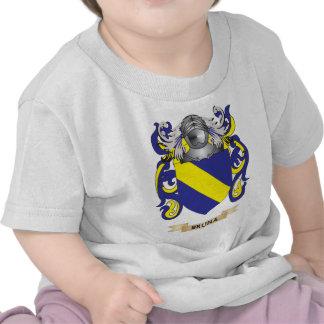 Escudo de armas de Bruna escudo de la familia Camiseta