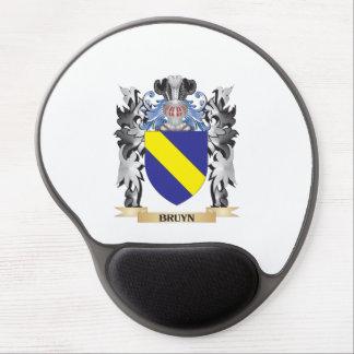 Escudo de armas de Bruyn - escudo de la familia Alfombrillas De Raton Con Gel