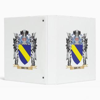 "Escudo de armas de Bruyn - escudo de la familia Carpeta 1"""