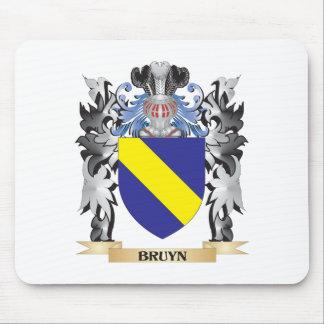 Escudo de armas de Bruyn - escudo de la familia Mousepad